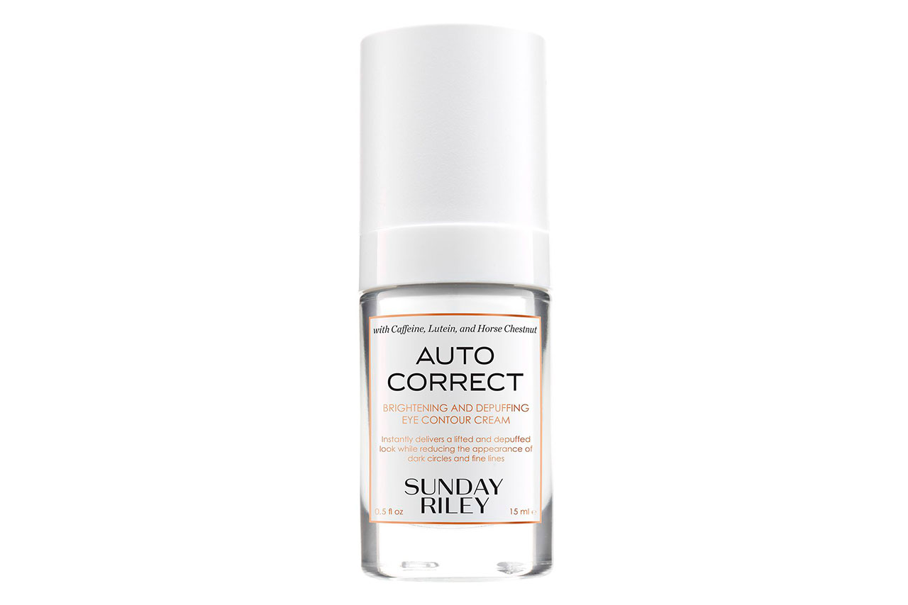 Крем для век Sunday Riley Autocorrect Brightening and Depuffing Eye Contour Cream