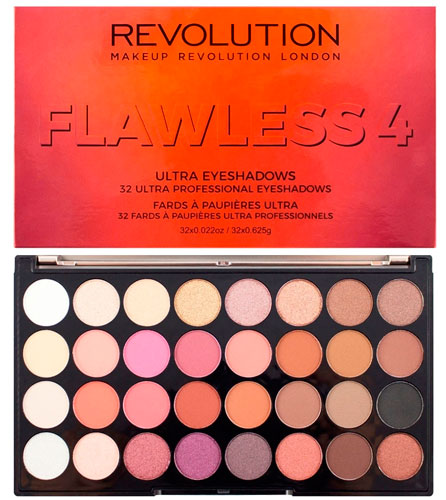 Палетка теней Makeup Revolution Flawless 4 Eyeshadow Palette