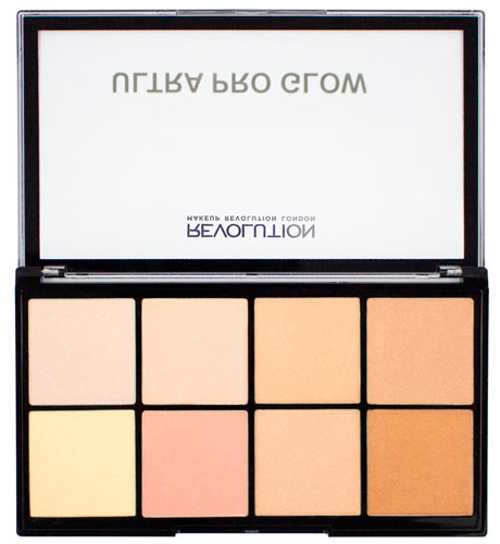 Палетка хайлайтеров Makeup Revolution Ultra Pro Glow Highlighter Palette
