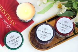 Аромасвечи European Soaps Via Mercato Natale Candle make-and-up