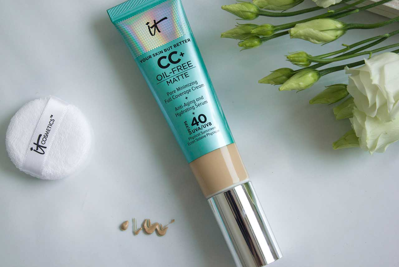 IT Cosmetics Your Skin But Better CC+ Oil-Free Matte with SPF 40 отзыв