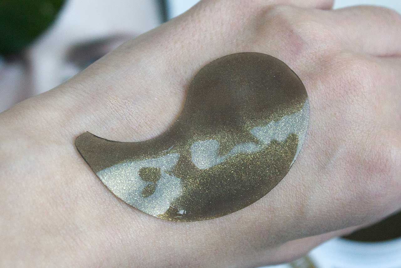 Petitfee Black Pearl & Gold Hydrogel Eye Patch отзыв