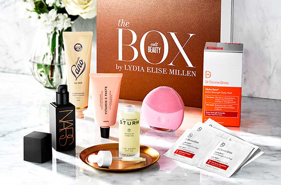 The Cult Beauty Box By Lydia Elise Millen весна 2019 наполнение