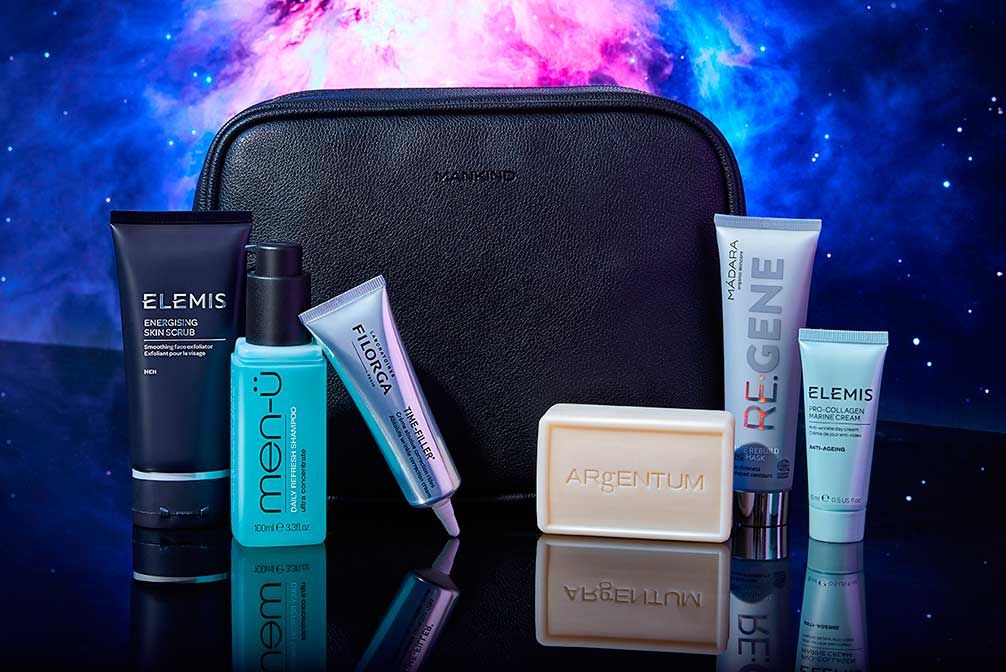 The Mankind Grooming Box The Intergalactic Collection наполнение
