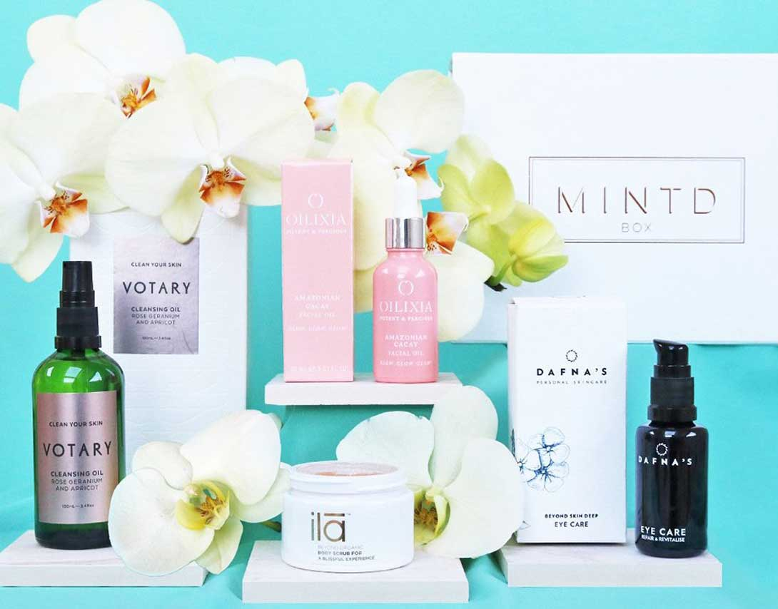 Коробочка Mintd Beauty Box март 2019 - Clean Beauty Edit