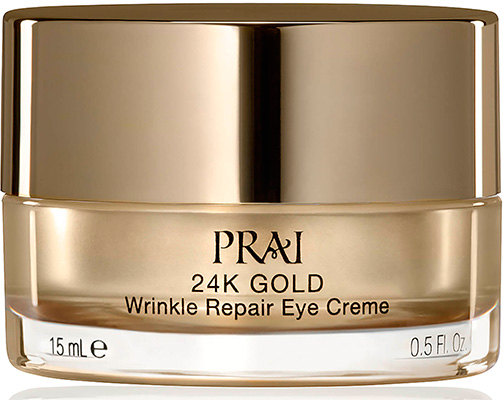 Крем для век PRAI 24k Gold Wrinkle Repair Eye Crème.