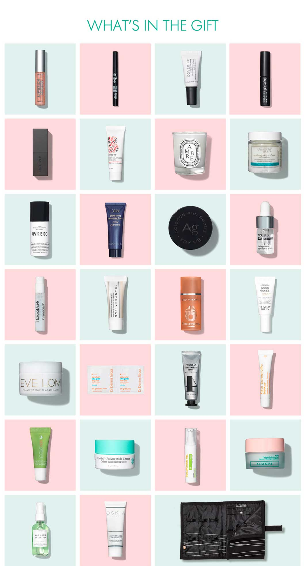 Space NK Goody Bag Spring 2019 наполнение