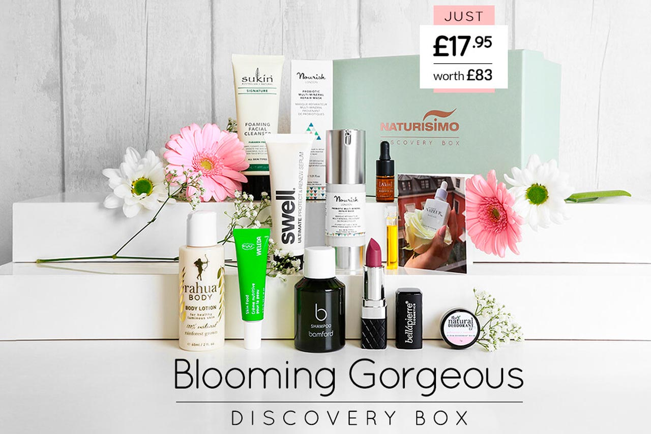 Бьюти-бокс Naturisimo Blooming Gorgeous Exclusive Discovery Box