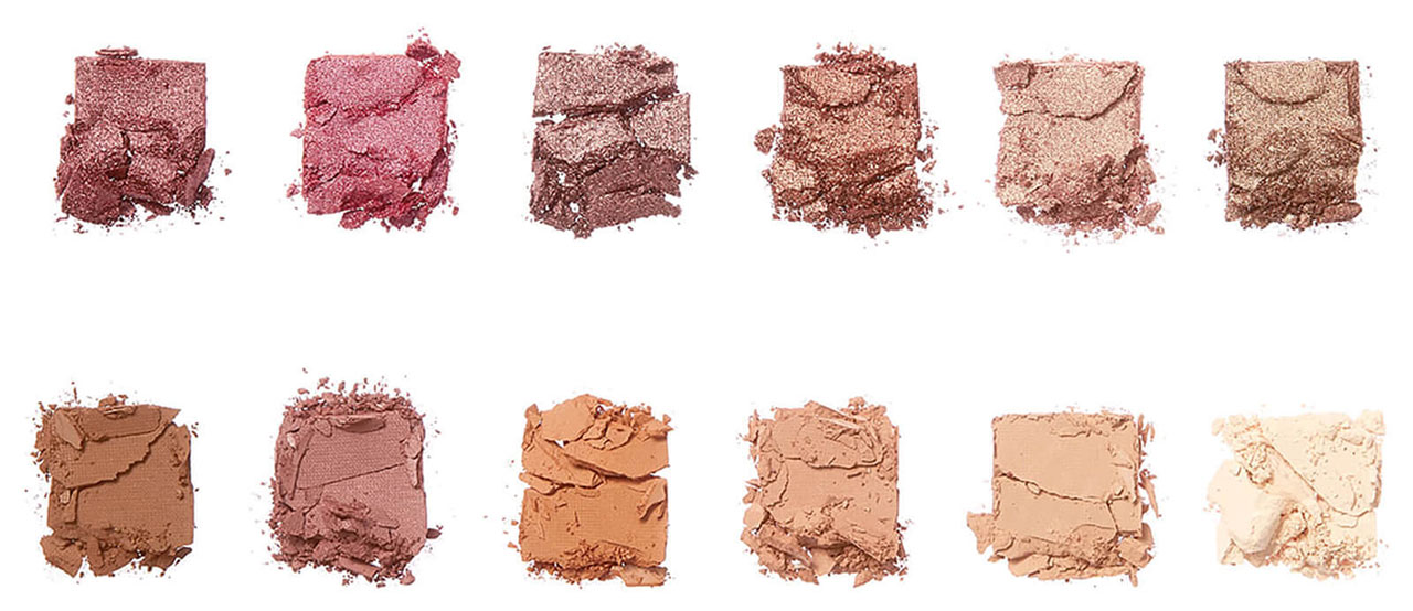 Палетка теней Illamasqua Nude Collection Unveiled Artistry Palette