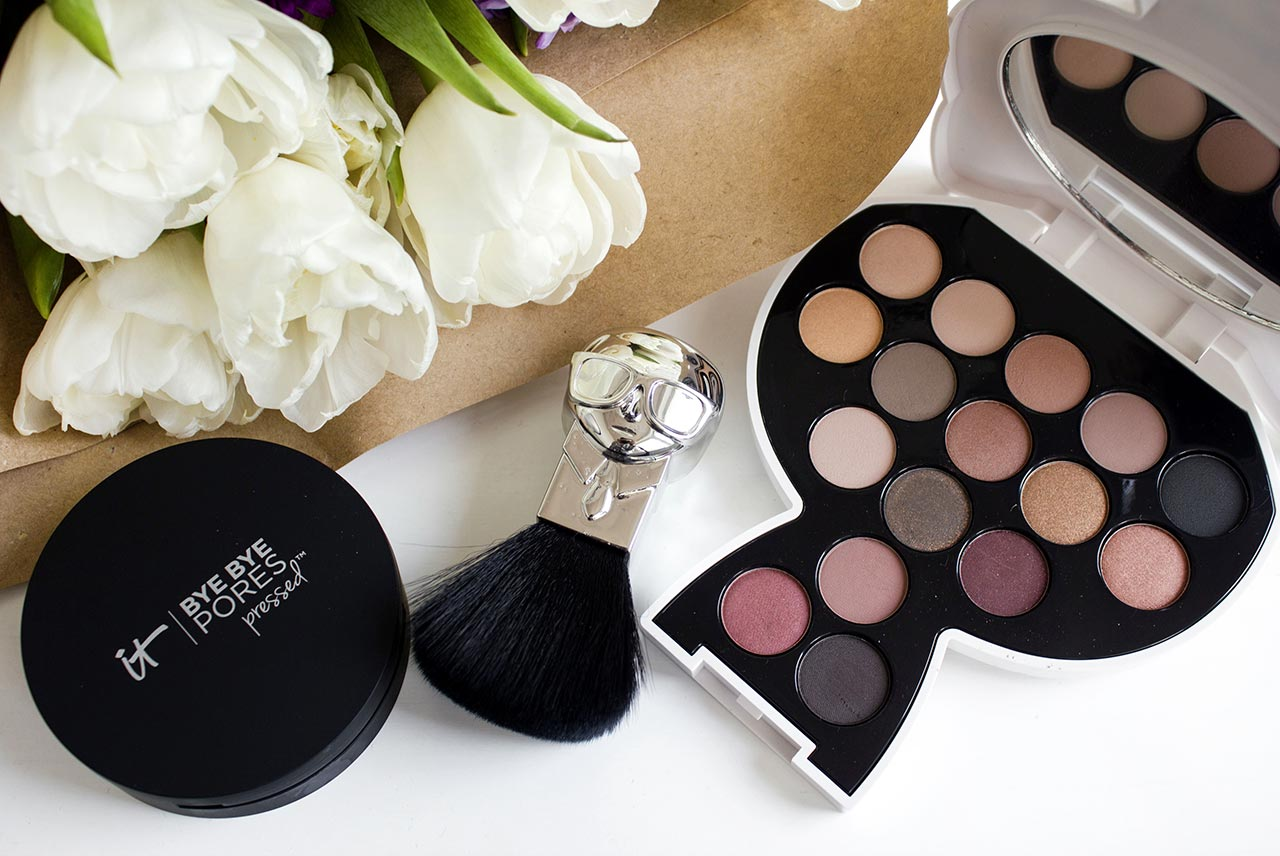 палетка Karl Lagerfeld + ModelCo Choupette Collectable Eyeshadow Palette Day To Night - Smokey Burgundy