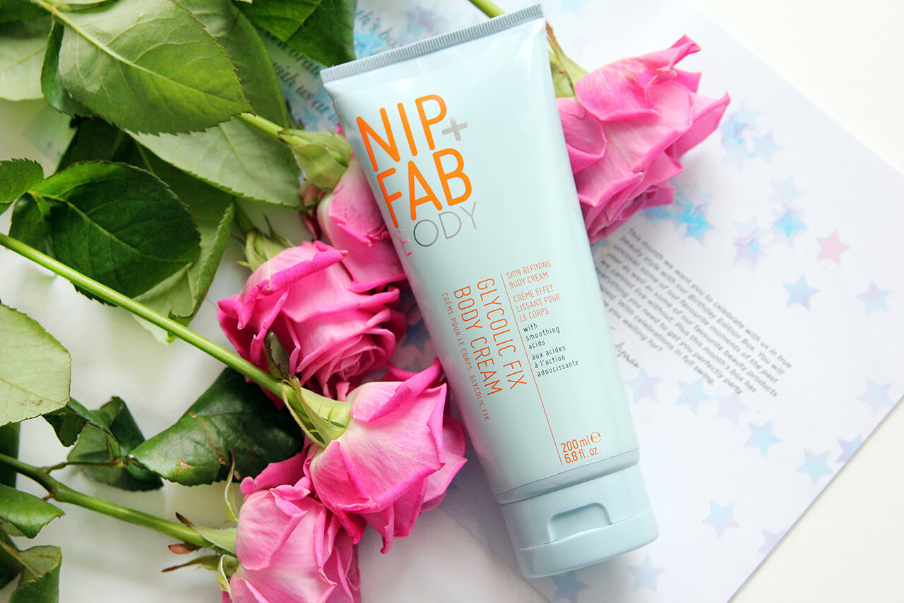 NIP+FAB Glycolic Fix Body Cream отзыв