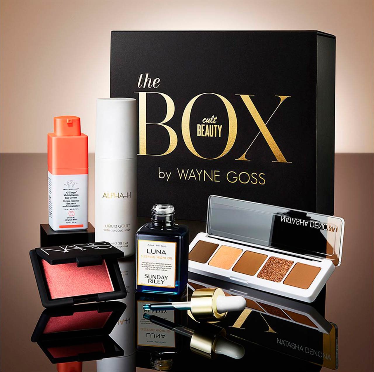 Wayne Goss X Cult Beauty Beauty Box наполнение