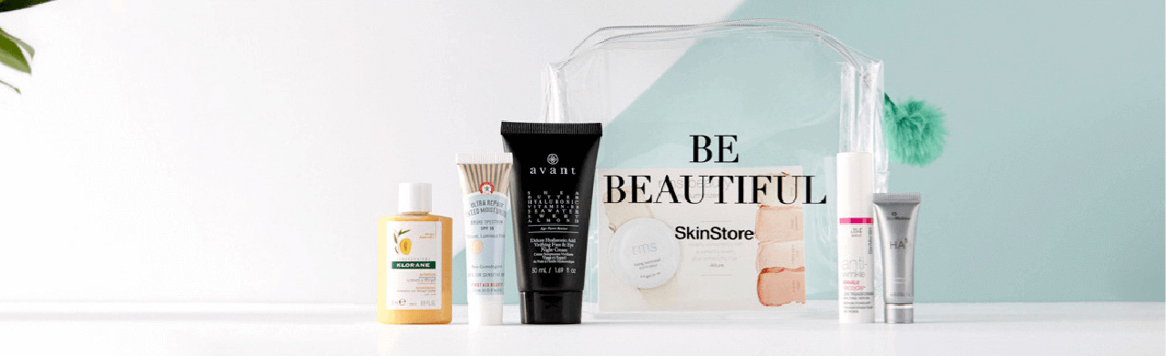 skinstore beauty bag апрель 2019
