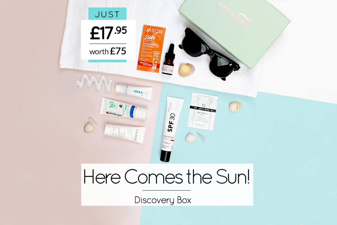 бокс Naturisimo Here Comes The Sun Exclusive Discovery Box