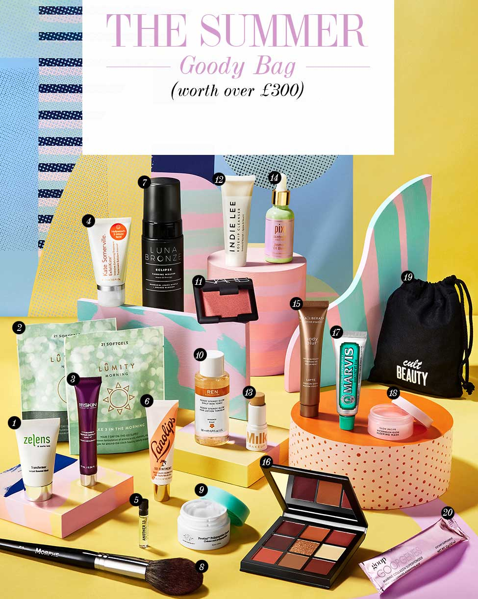 Cult Beauty Goody Bag Summer 2019 наполнение