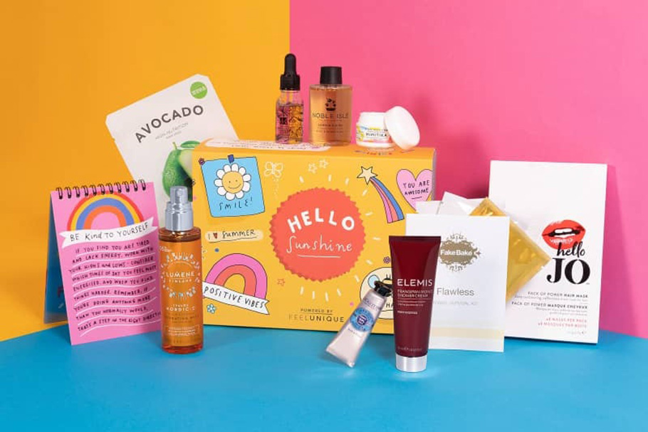 Feelunique Hello Sunshine Box наполнение