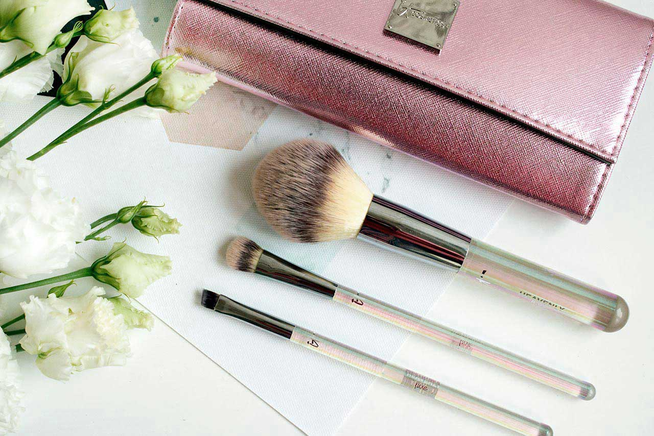отзыв о наборе кистей IT Cosmetics Heavenly Luxe Beautiful Basic Brush Collection