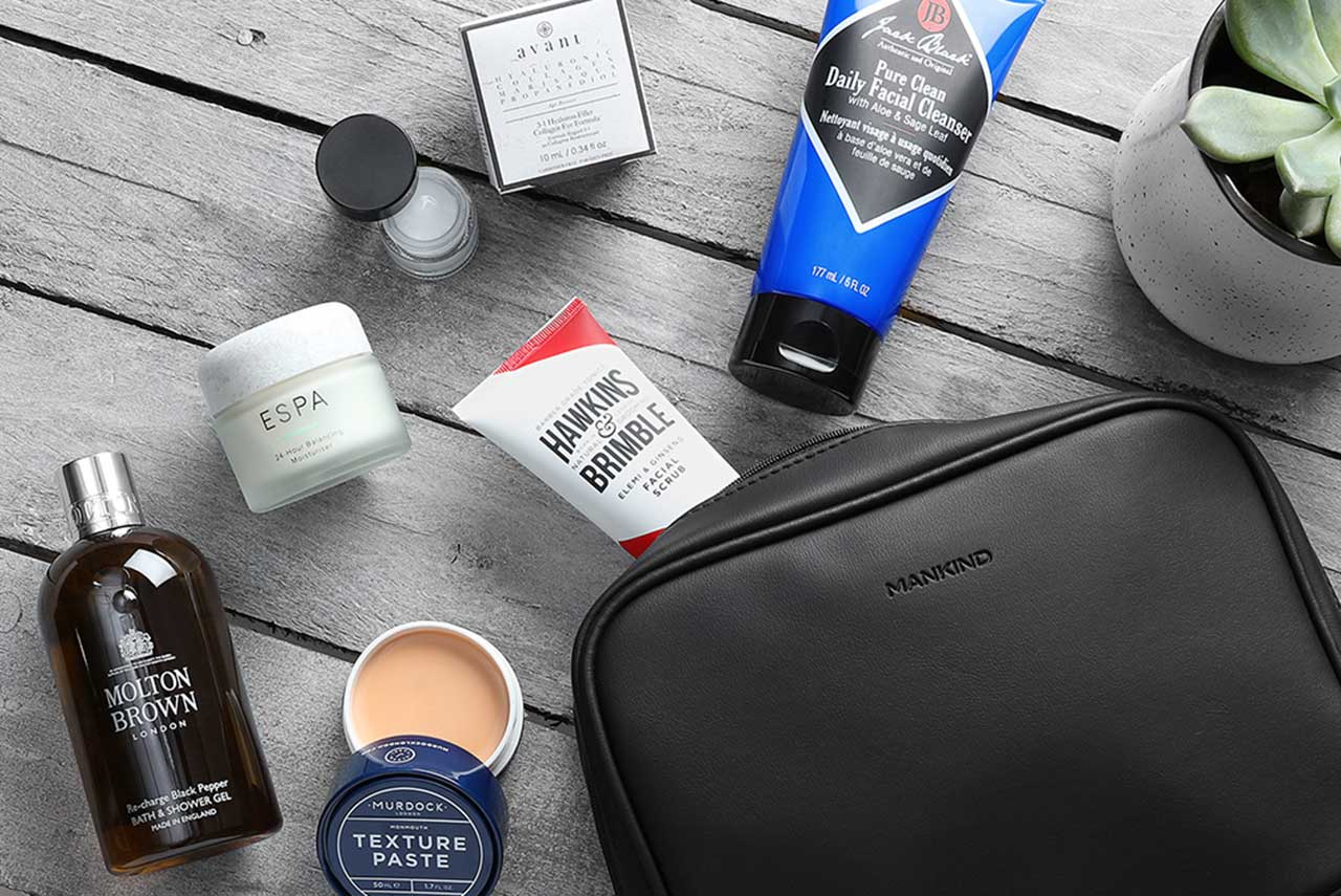 Manking Grooming Box The Heritage Collection наполнение