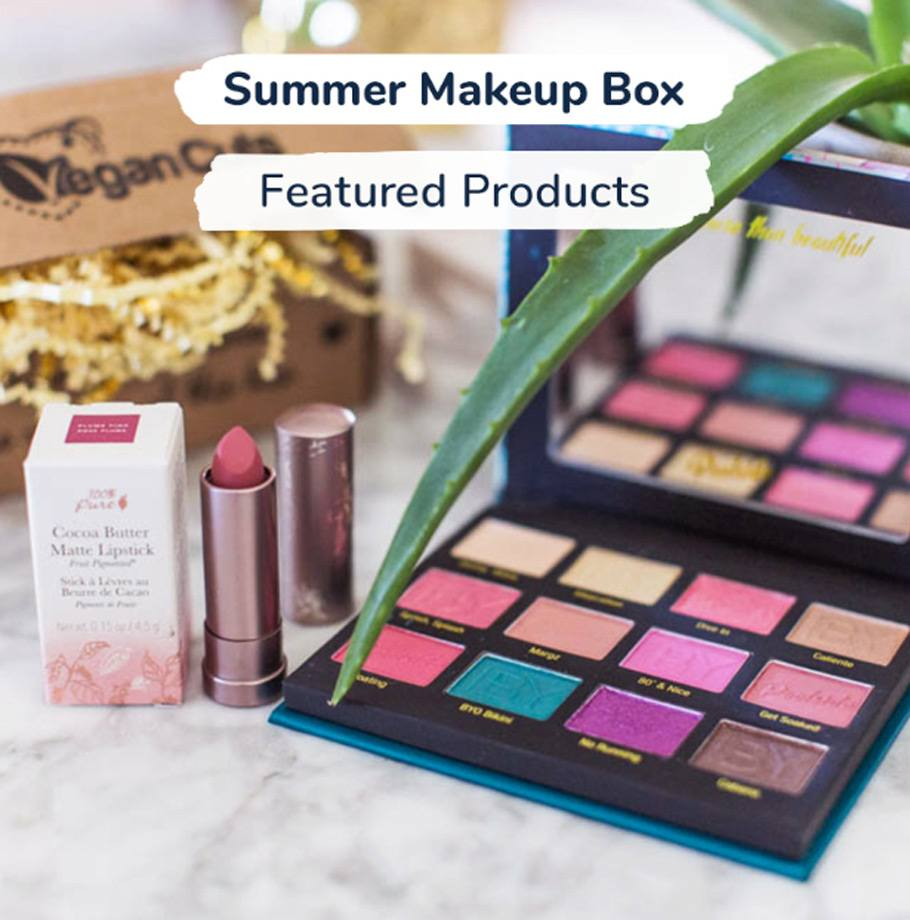 бокс Vegan Cuts Summer Makeup Box Poolside Glamour
