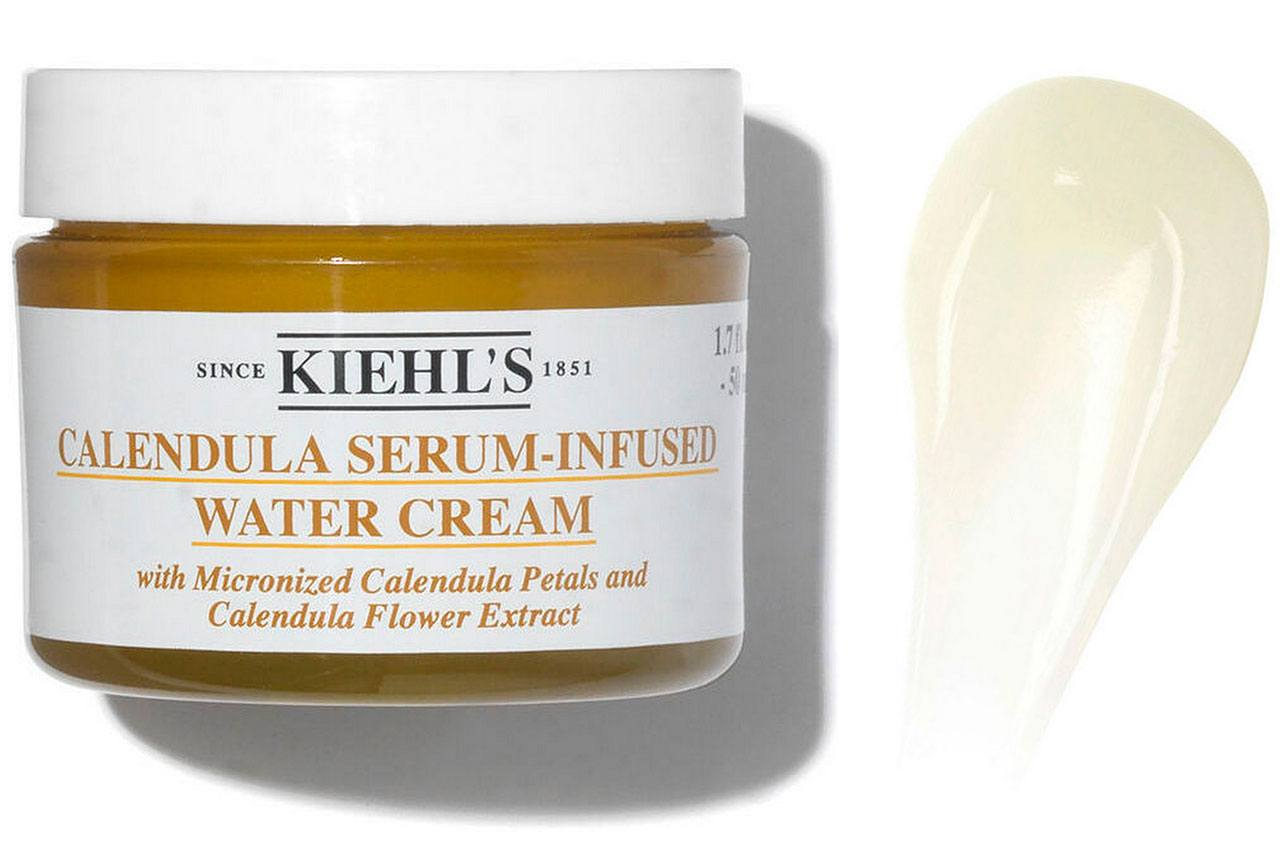 Крем для лица Kiehl's Calendula Serum-Infused Water Cream