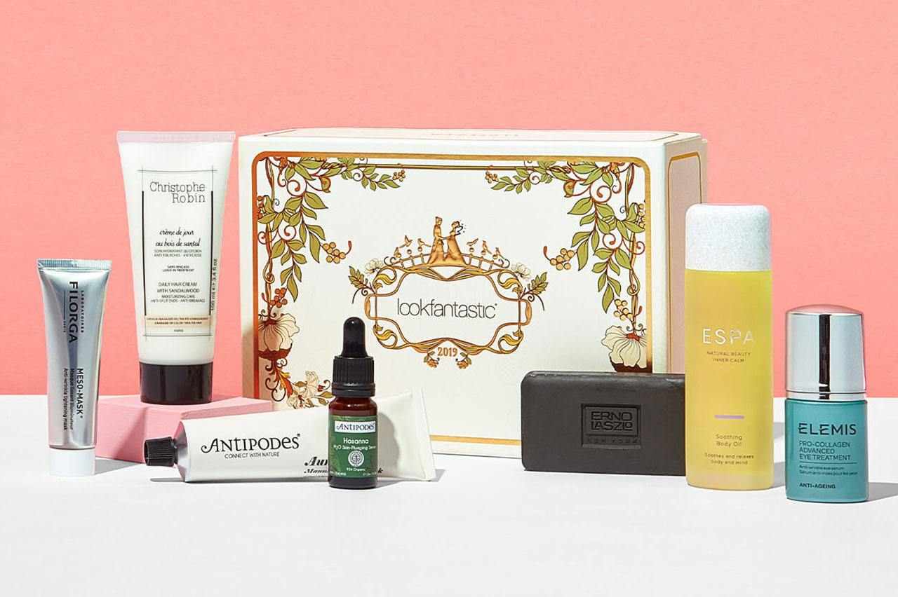 Lookfantastic Qixi Limited Edition Beauty box 2019