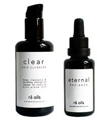 rå oils Clarity and Radiance Duo