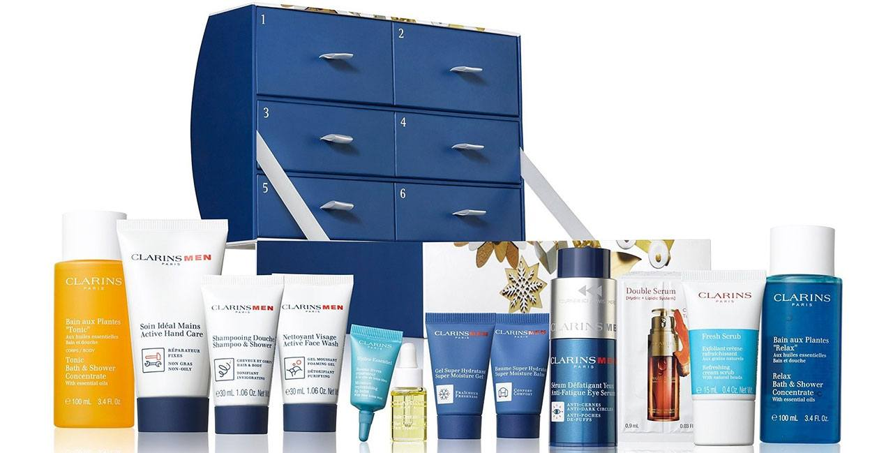 Clarins Men 12 Days of Christmas Advent Calendar 2019