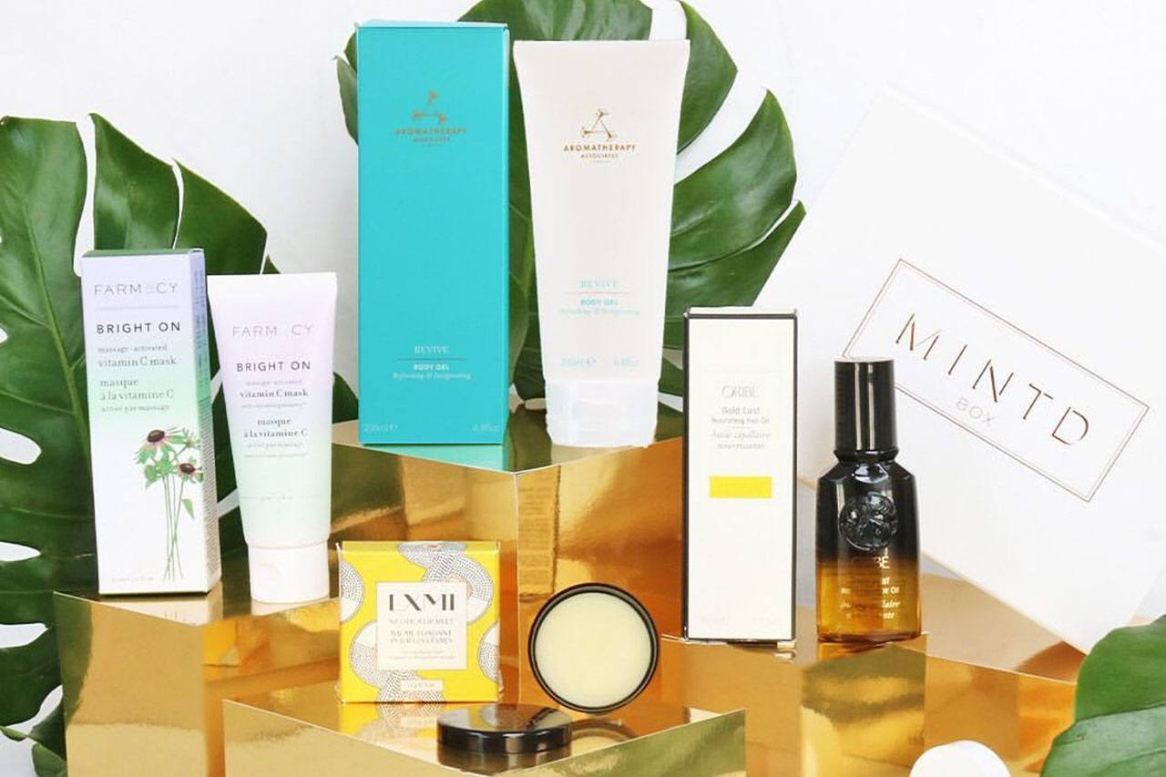 Mintdbox Skin Renewal Beauty Box август 2019