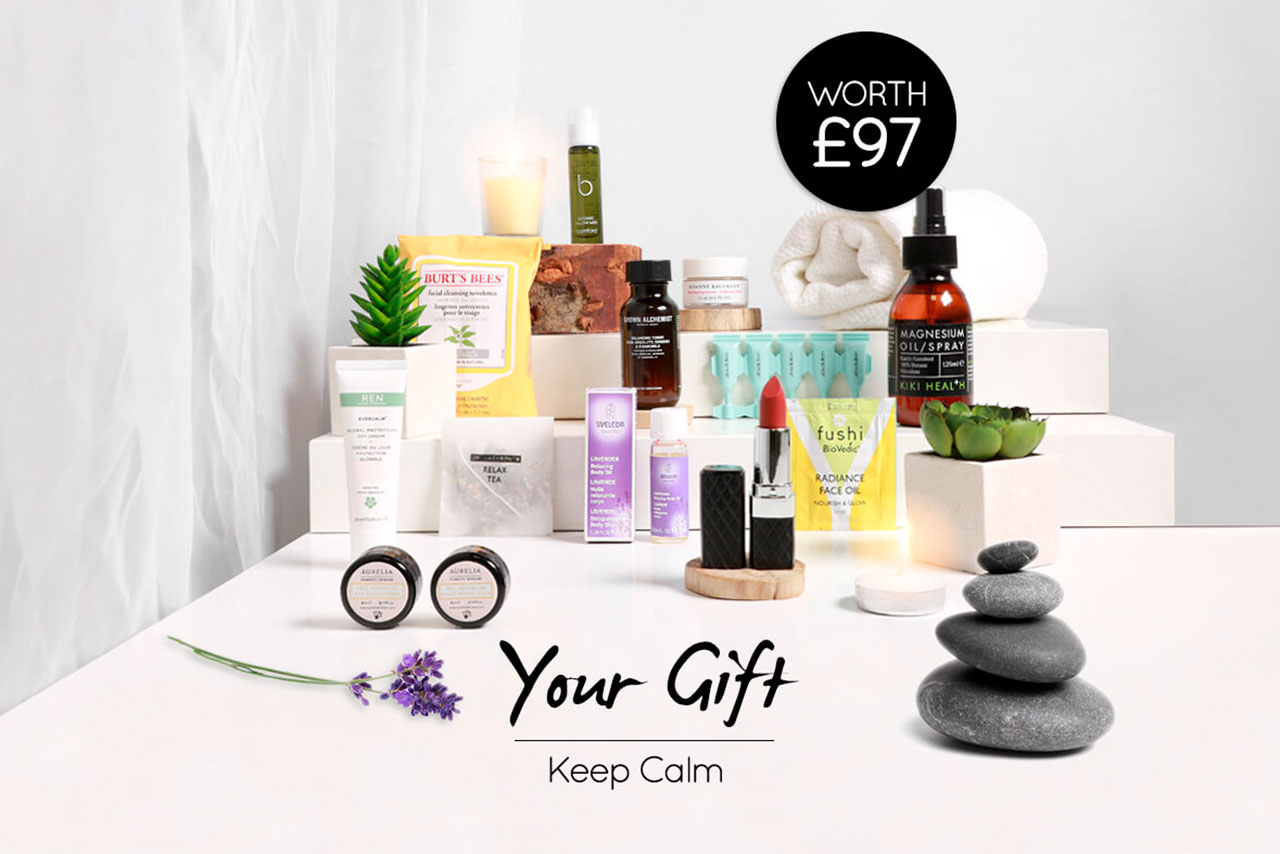 Naturisimo Keep Calm Gift Bag август 2019