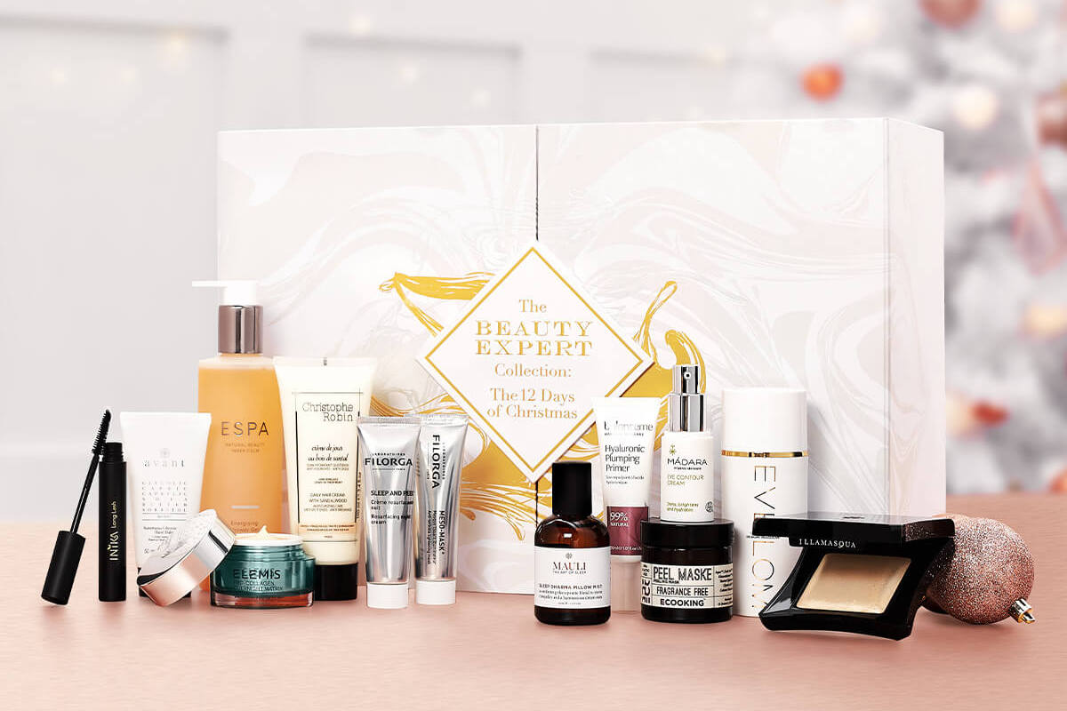 The Beauty Expert Collection 12 Days of Christmas Advent Calendar