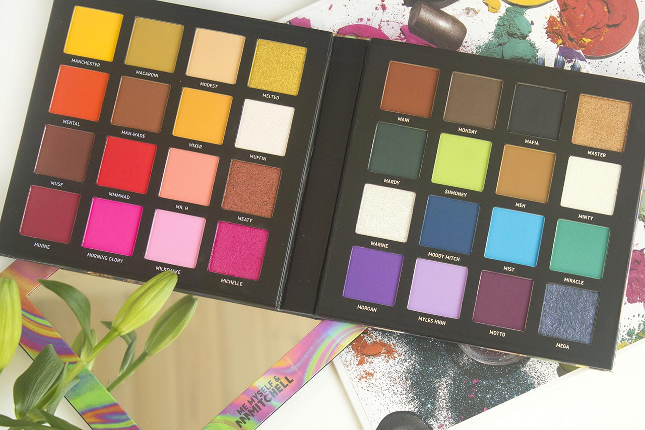 Beauty Bay Me, Myself & MMMMitchell Pressed Pigment Palette