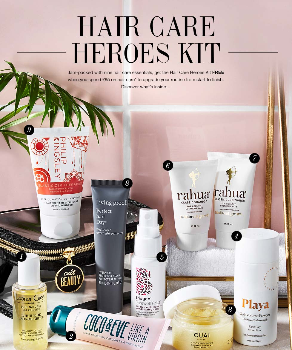 Cult Beauty Hair Care Heroes Kit Goody Bag