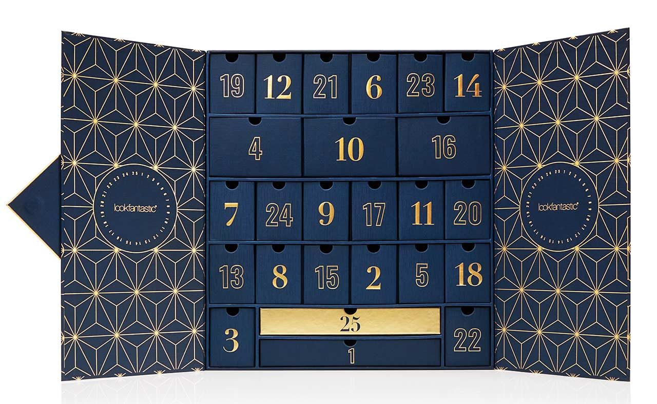 Lookfantastic Advent Calendar 2019 предзаказ
