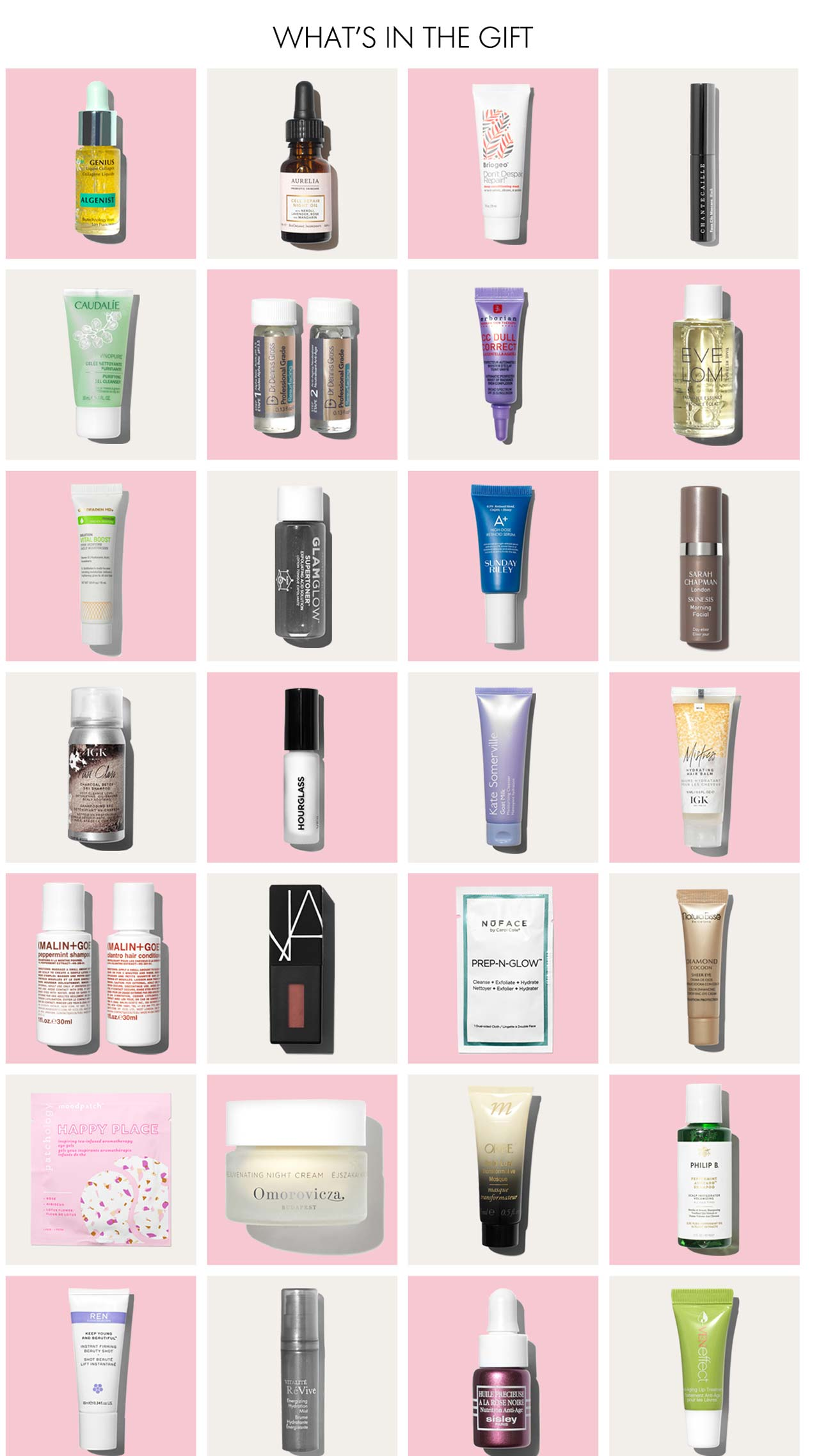 Space NK The Experts' Edit Gift наполнение