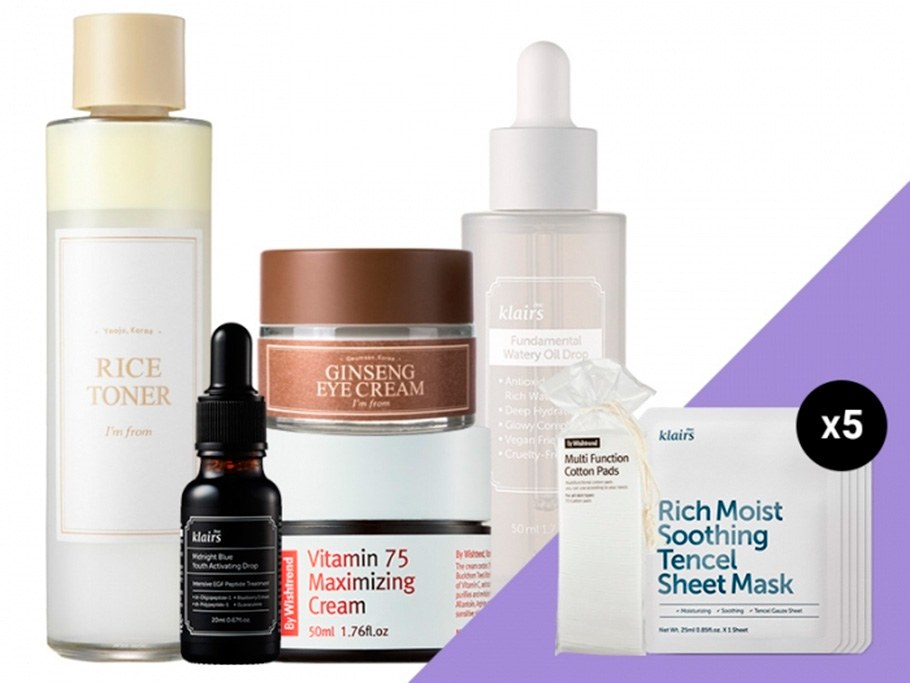 Wishtrend Youthful Aging Skin Care Box