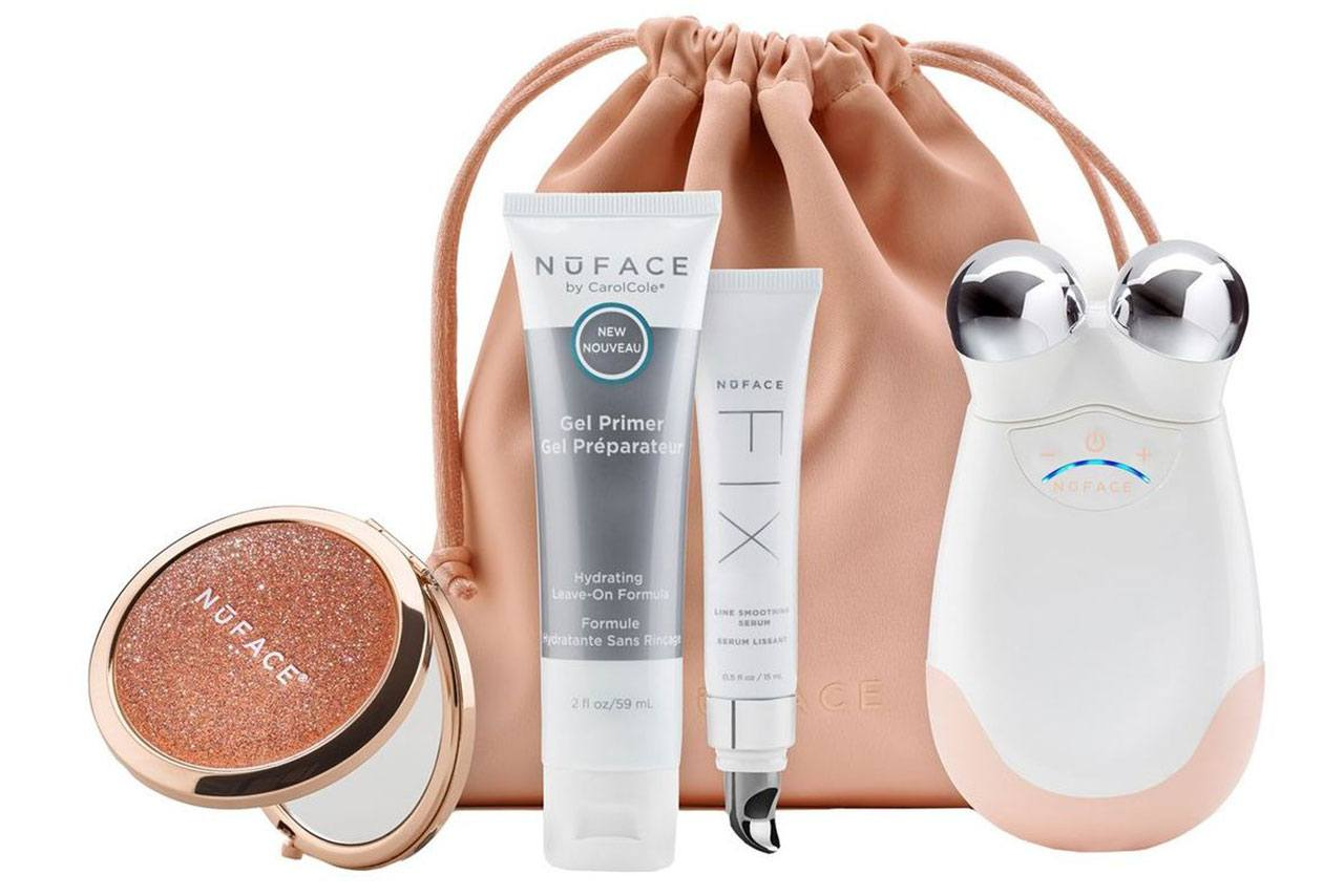 NuFACE Trinity Shimmer All Night Collection