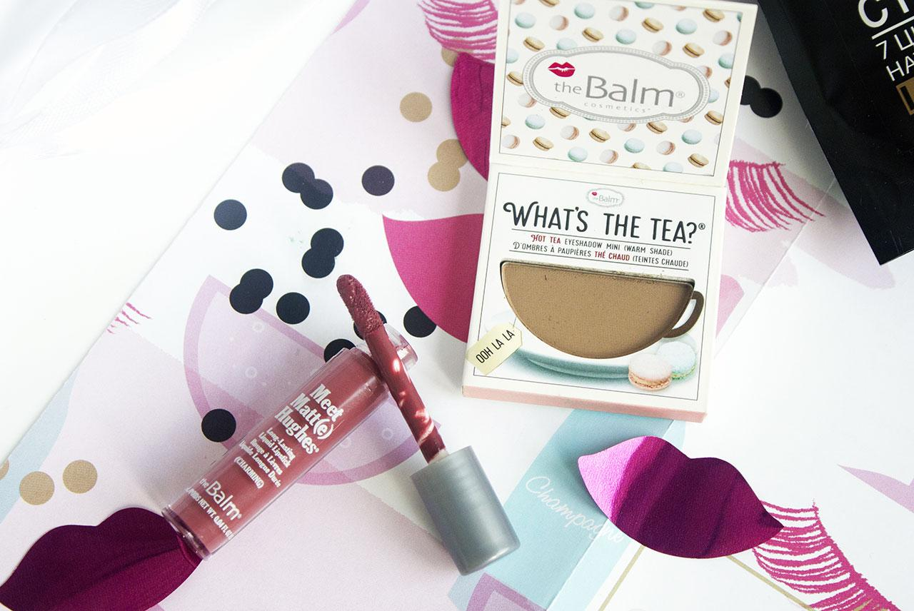 Тени для век theBalm What's The Tea Eyeshadow в оттенке Ooh La La