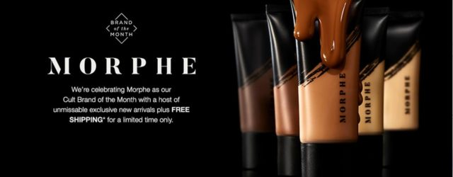 косметика Morphe на Cult Beauty