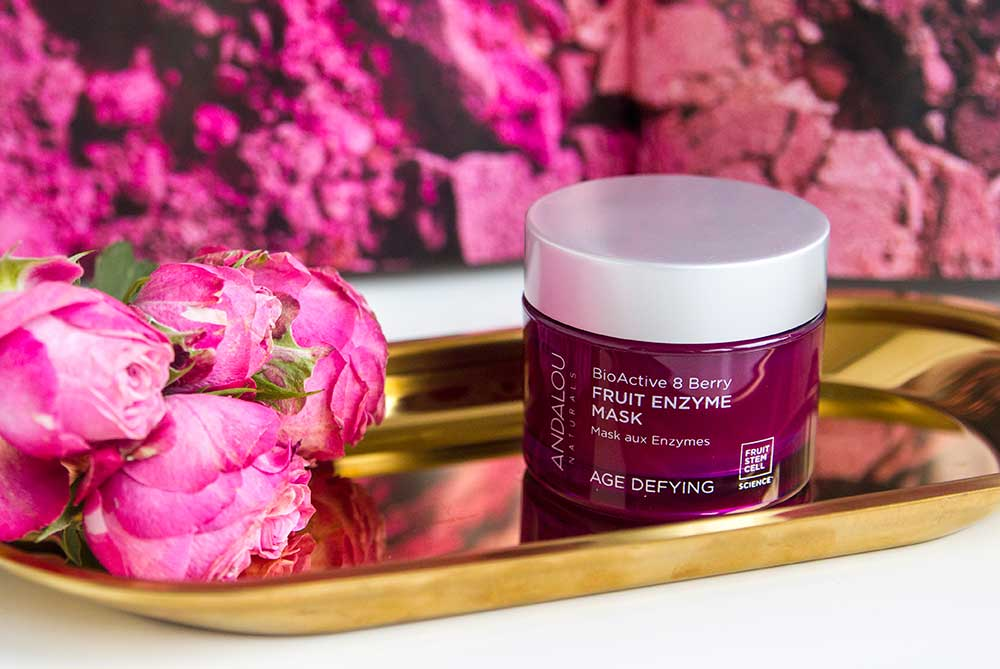 отзыв о маске для лица Andalou BioActive Berry Fruit Enzyme Mask