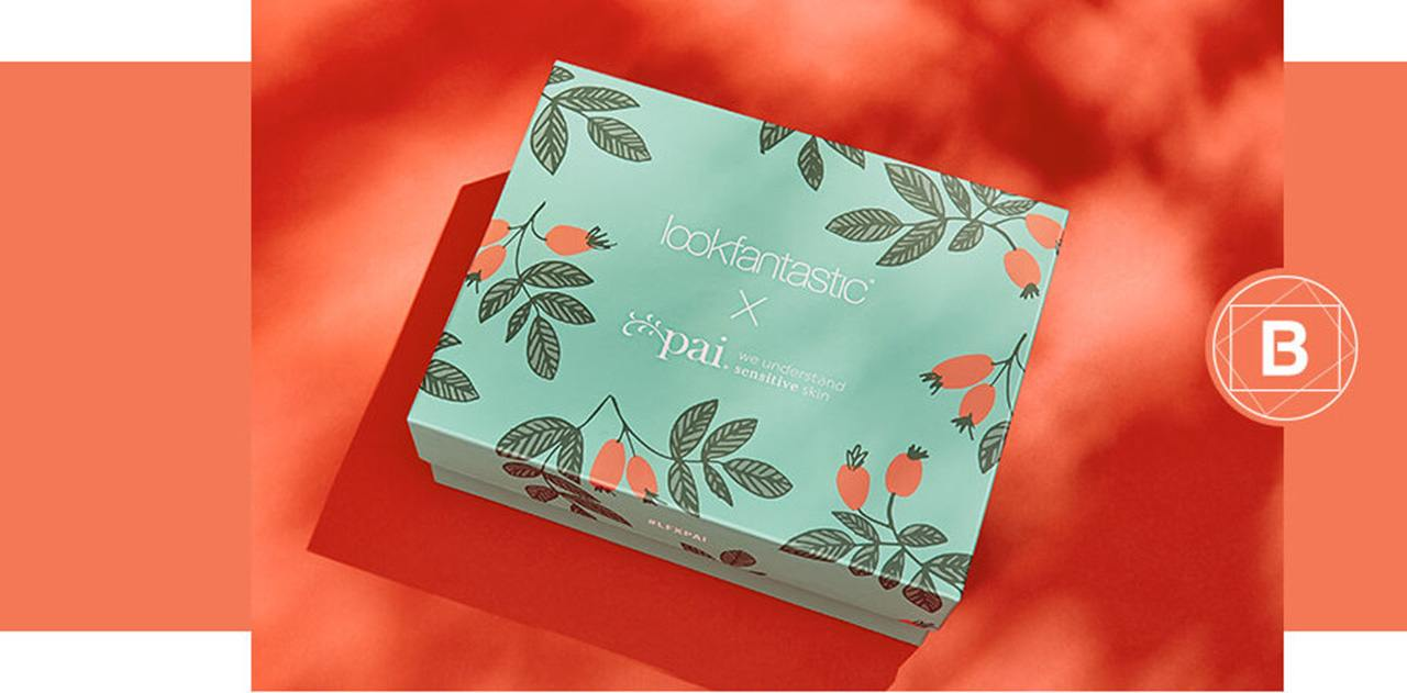 Lookfantastic X Pai Limited Edition Beauty Box первая