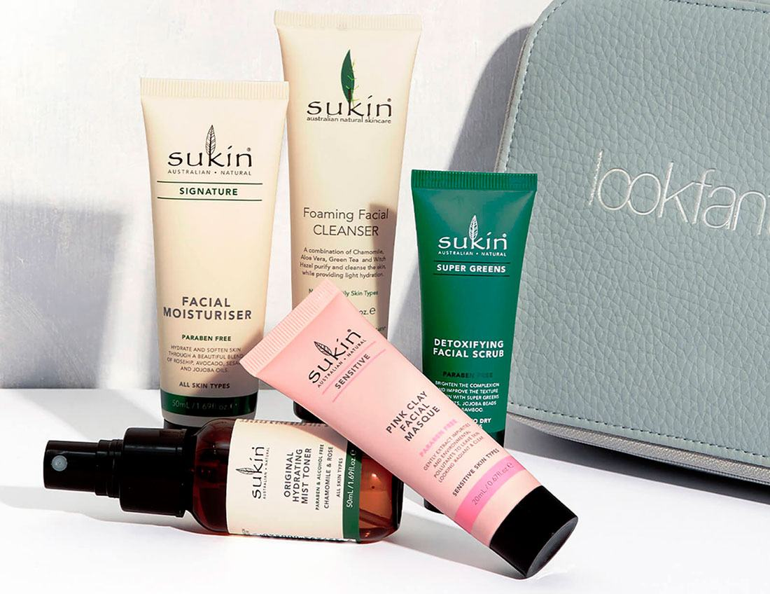 Sukin Lookfantastic Discovery Bag