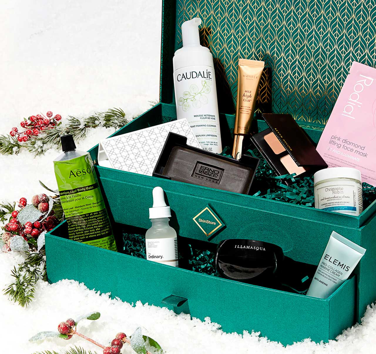 коробочка SkinStore Limited Edition Holiday Box