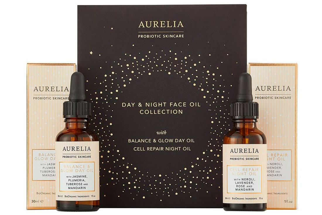 Aurelia Day & Night Face Oil Collection