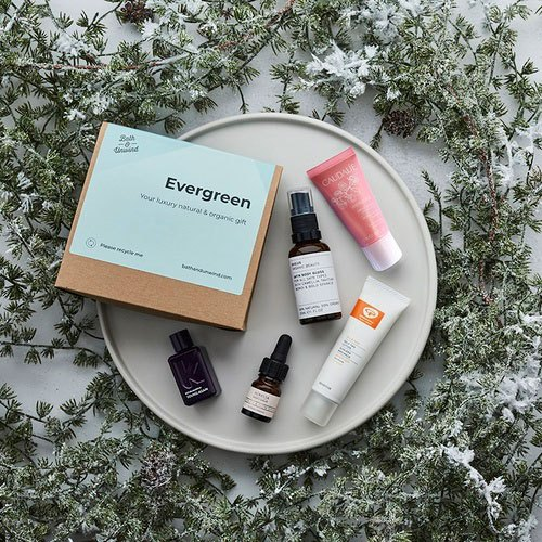 Bath & Unwind Evergreen - Natural Skin Care Beauty Box