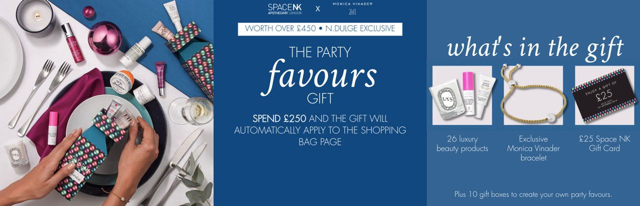 Space NK The Party Pieces winter 2019