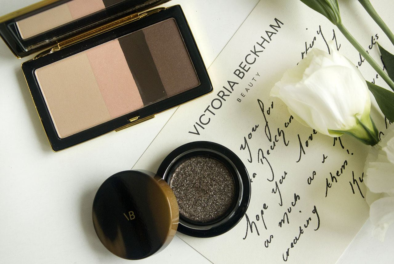 отзыв о палетке теней Victoria Beckham Beauty Smoky Eye Brick