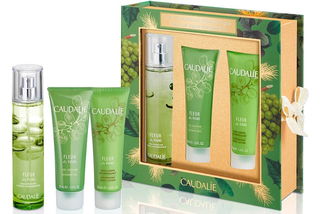 Caudalie Fleur de Vigne Fragrance and Body Set