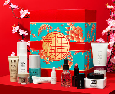 Lookfantastic 2020 Chinese New Year Spring Flower Box наполнение