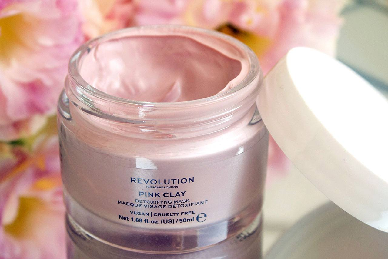 отзыв о маске для лица Revolution Beauty Pink Clay Detoxifying Face Mask