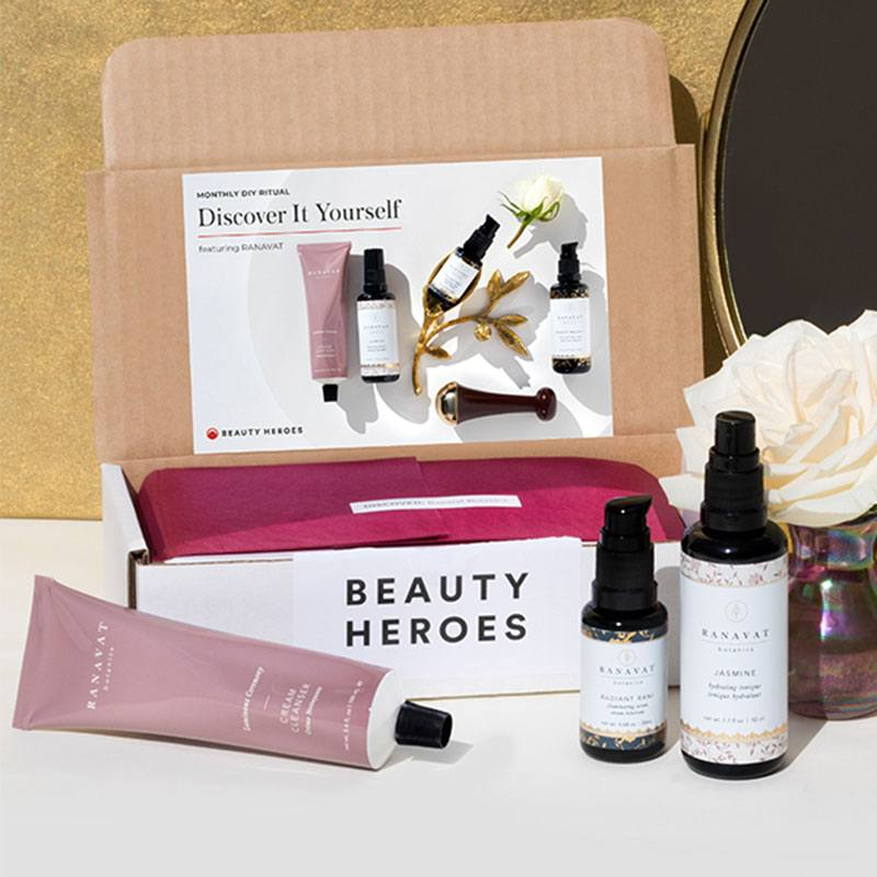 Beauty Heroes Discovery Box January 2020